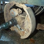 About The Mobile Home Axle Brakes Also Discovered That Mine Are