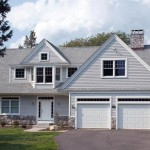 Achitect Designed Cape Cod Front Facing Garage And Gable