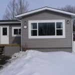 After Front Mobile Home Everything Was Changed New Entrance The