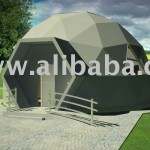 All Climate Prefabricated Geodesic Dome Villas Detailed About