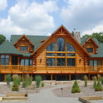 All Eastern Adirondack Home And Design Modular Log Homes Employ The