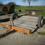Allied Home Made Off Road Trailer John Deere