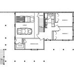 Alpine Chalet Log Home Floor Plan Main Basement