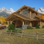 Alpine Log Home Design The Connection