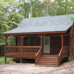 Alta Log Homes For Sale New Cabin Near Mine Kill State Park