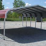 Aluminum Steel Prefab Carports Are Very Popular