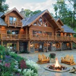 Antique Builds Old Fashioned Log Home Sentimental Appeal