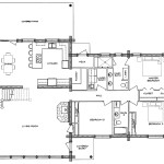 Arapaho Log Home Floor Plan Main