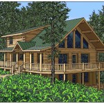 Architectural Renderings Keith Schmidt Lake Home Michigan