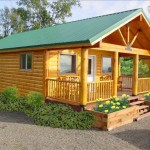 Architecture Awesome Modular Log Cabin House Cute Small Garden