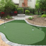Arlington Ohio Synthetic Putting Greens Home