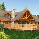 Aspen Woods Log Home Design The Connection