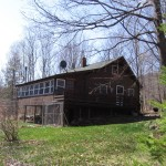 Avon Maine Vacation Home Real Estate For Sale Log Cabin