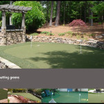 Backyard Putting Green Home