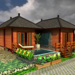 Bali Prefab Houses Knockdown Units Eco Cottages