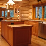 Beautiful Kitchens The Blog Custom Log Home Kitchen Wesley Ellen