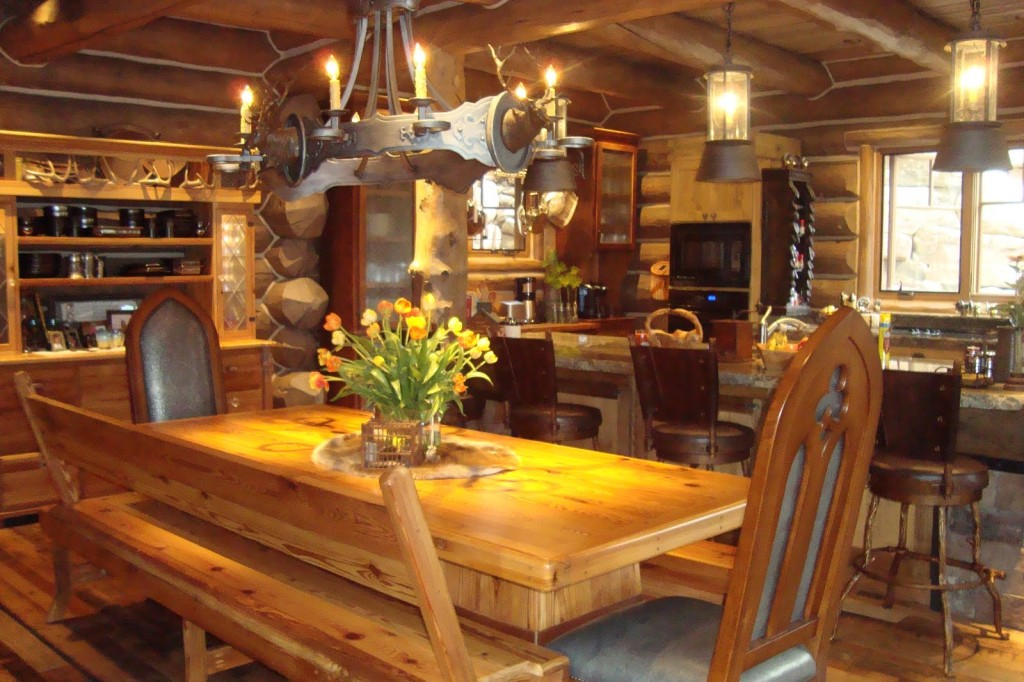 Beautiful Log Cabin Homes Interior Inspiration House Design Ideas