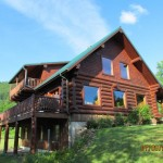 Beautiful Log Home Huge Shop Acres Homes For Sale