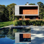 Beautiful Modular Vacation Home Montauk Architecture View