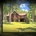 Becherer Drive Northern Wisconsin Log Home For Sale