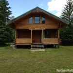 Bed Log Cabin Home For Sale Owner County Northome