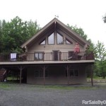 Bed Log Cabin Home For Sale Owner County Route Windham