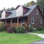 Bed Log Cabin Home For Sale Owner Pearl Street Crown Point