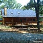 Bed Log Cabin Home For Sale Owner Pinson Lane Ellijay