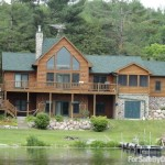 Bed Log Cabin Home For Sale Owner Simonson Wautoma