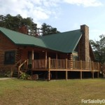 Bed Log Cabin Home For Sale Owner Winfield