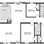 Bedroom Manufactured Homes Five Mobile Home Floor Plans