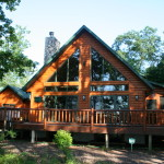Below Sampling Log Homes Currently For Sale Lake Petenwell