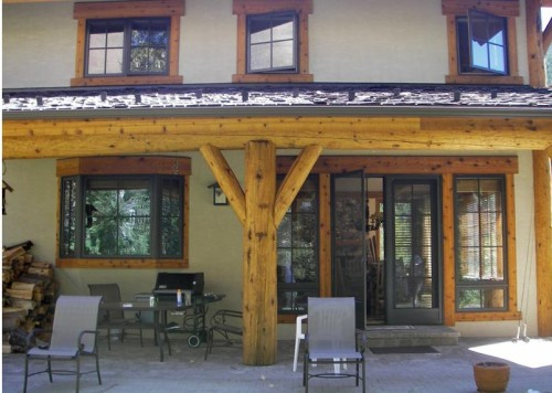 Best Home Design Warm Springs Log Stain House