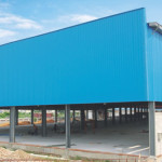 Best Prefabricated Steel Frame Structures Large Span For Exhibition