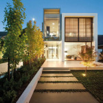 Between Modern House The Green Home Design All