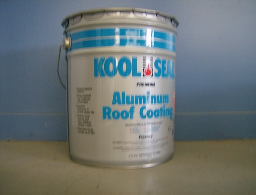 Blue Label Kool Seal Aluminum Roof Coating For Mobile Home Roofs