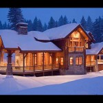 Both Worlds Produced Precisioncraft Log Homes Loghome