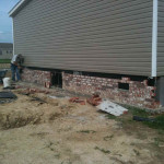 Brick Skirting For Manufactured Homes Thgtexas Htm