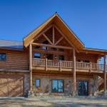Broken Bow Rustic Exterior Dallas Satterwhite Log Homes