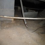 Broken Corroded Metal Mobile Home Tie Down Building Defect