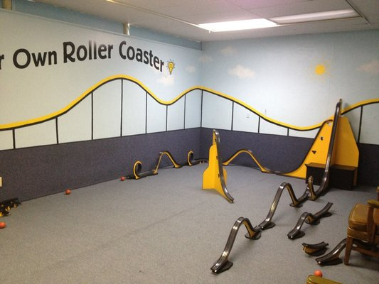 Build Your Own Roller Coaster Where You Can Roll Balls Down The Track