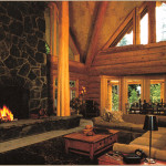 Building Luxury Log Home