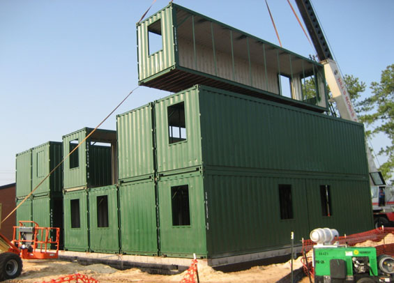 Building Shipping Containers