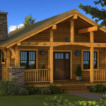 Bungalow Log Home Cabin Plans Southland Homes