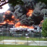 Burned Wednesday Afternoon Clayton County Industrial Building