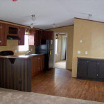 Cactus Ranch Mobile Home Kitchen Area