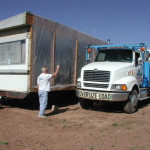 Careful Mobile Home Mover