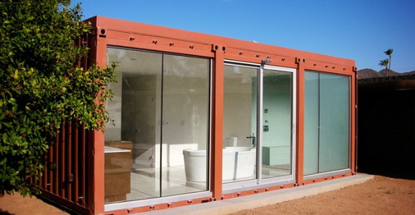 Cargo Container Homes Green Plants