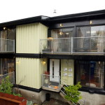Cargo Container Homes Stone Gravel