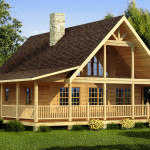 Carson Log Home Cabin Plans Southland Homes